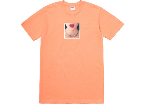 Supreme Necklace Tee Peach