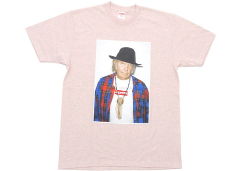Supreme Neil Young Tee Pink
