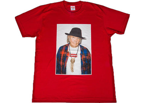 Supreme Neil Young Tee Red