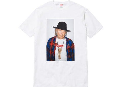 Supreme Neil Young Tee White