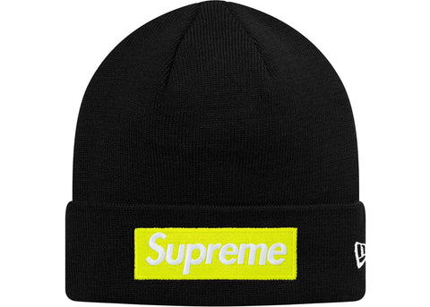 71c988e7 Supreme New Era Box Logo Beanie (FW17) Black