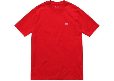 Supreme Reflective Small Box Tee Red