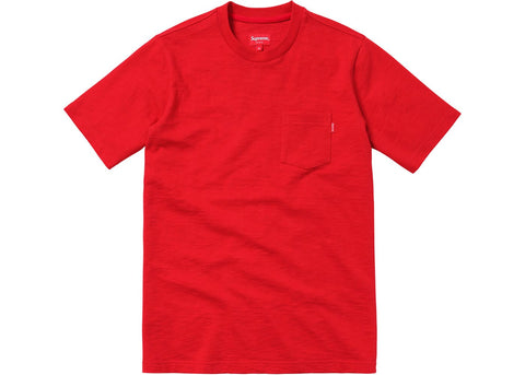 Supreme S/S Pocket Tee Red