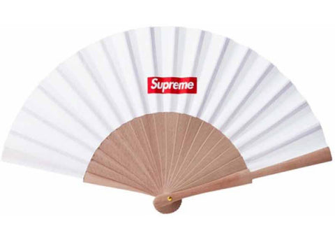 Supreme Sasquatchfabrix Folding Fan White