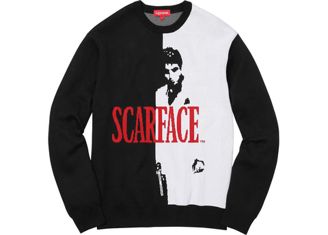 Supreme Scarface Sweater Black