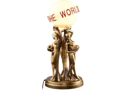 Supreme Scarface The World Is Yours Lamp Multicolor