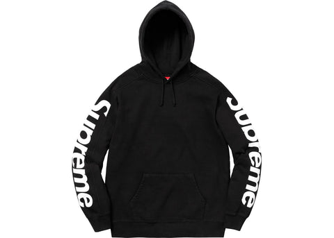 Supreme Sideline Hooded Sweatshirt Black
