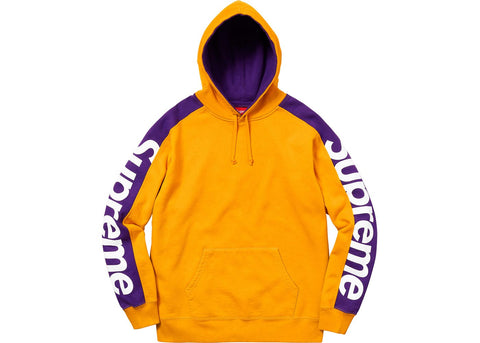Supreme Sideline Hooded Sweatshirt Gold