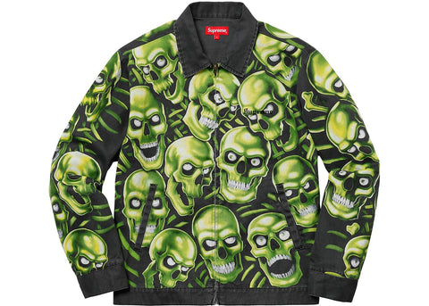 Supreme Skull Pile Work Jacket Multi