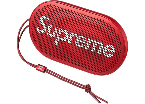 Supreme B&O PLAY by Bang & Olufsen P2 Wireless Speaker Red