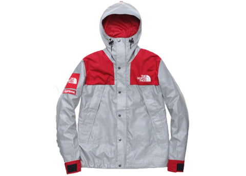 Supreme The North Face 3M Reflective Mountain Jacket Red