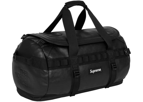 Supreme The North Face Leather Base Camp Duffel Black
