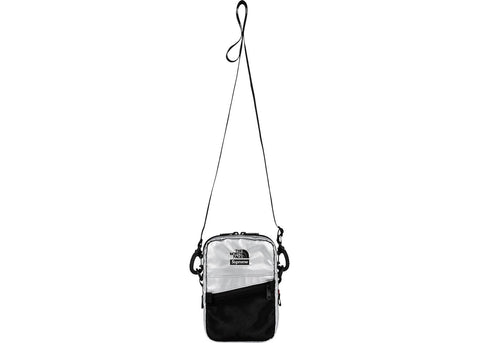 Supreme The North Face Metallic Shoulder Bag Silver