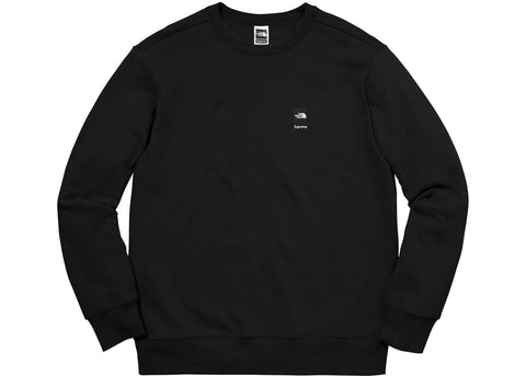 Supreme The North Face Mountain Crewneck Sweatshirt Black