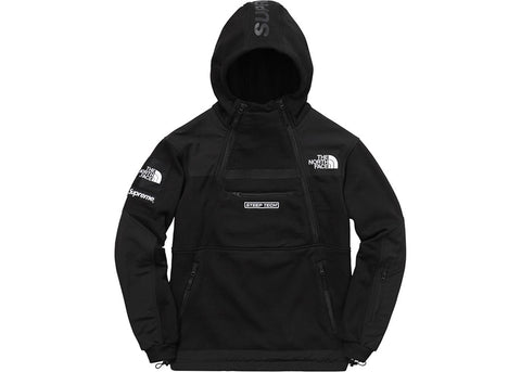 Supreme The North Face Steep Tech Hooded Sweatshirt Black