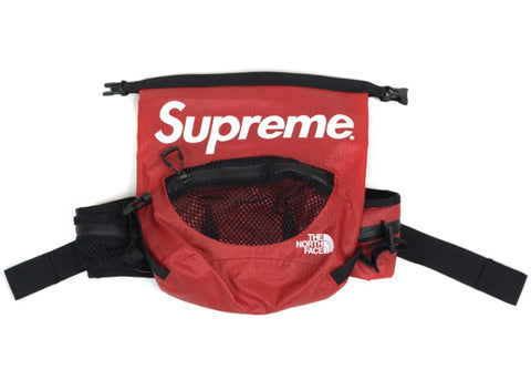 Supreme The North Face Waterproof Waist Bag Red
