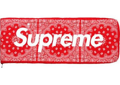 Supreme The North Face Bandana Dolomite Sleeping Bag Red