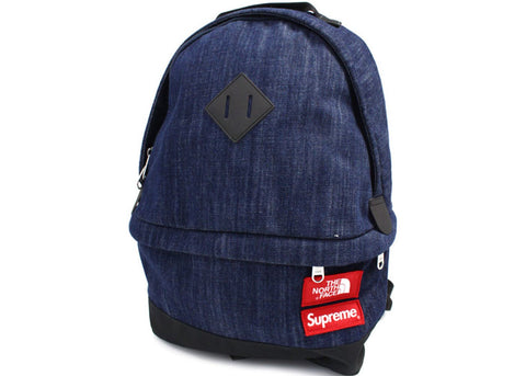 Supreme The North Face Denim Day Pack Blue