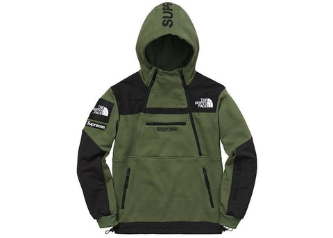 Supreme The North Face Steep Tech Hooded Sweatshirt Olive