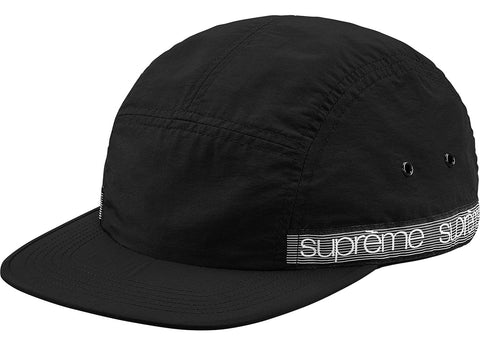 Supreme Tonal Taping Camp Cap Black