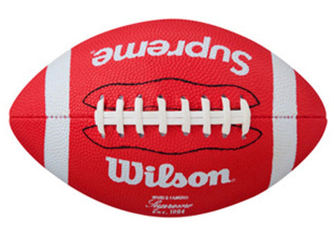 Supreme Wilson American Mini Football Red
