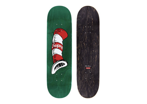 Supreme Cat in the Hat Skateboard Green