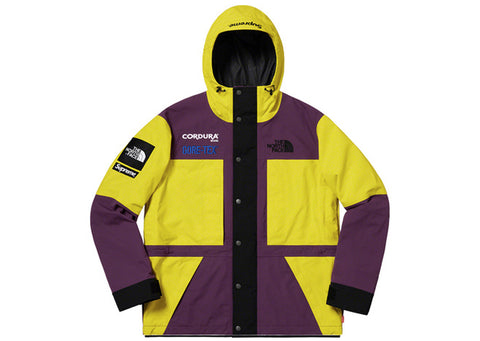 Supreme The North Face Expedition Jacket Yellow