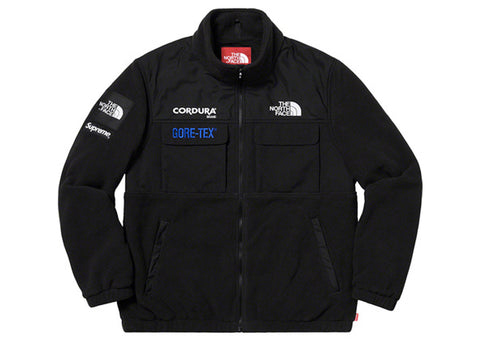 Supreme The North Face Expedition Fleace Jacket Black