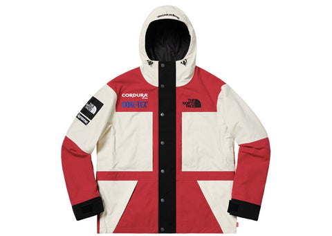 Supreme The North Face Expedition Jacket White/Red