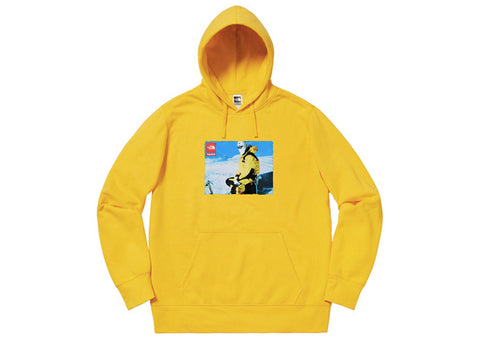 Supreme The North Face Expedition Hoodie Yellow