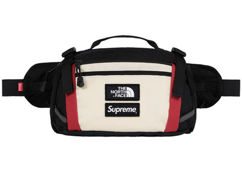 Supreme The North Face Waist Bag White/Red