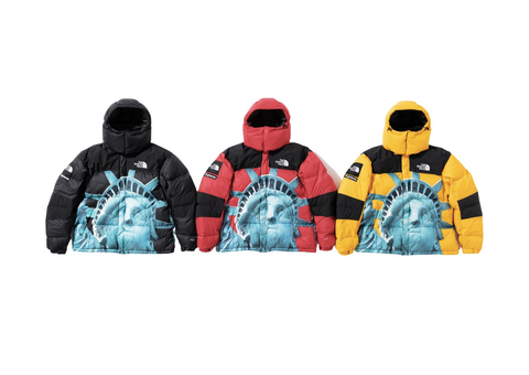 Supreme®/The North Face® Statue of Liberty Baltoro Jacket