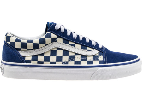 Vans Old Skool Blue Checkerboard