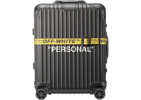 "Rimowa Off-White ""Personal"""