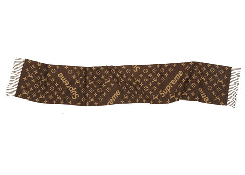 Louis Vuitton x Supreme Monogram Scarf