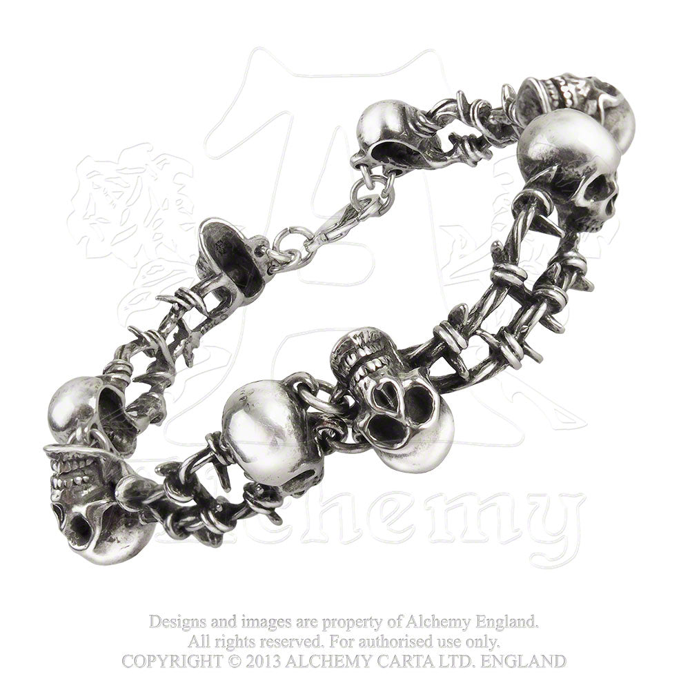 Alchemy Gothic No Man's Land Bracelet from Gothic Spirit