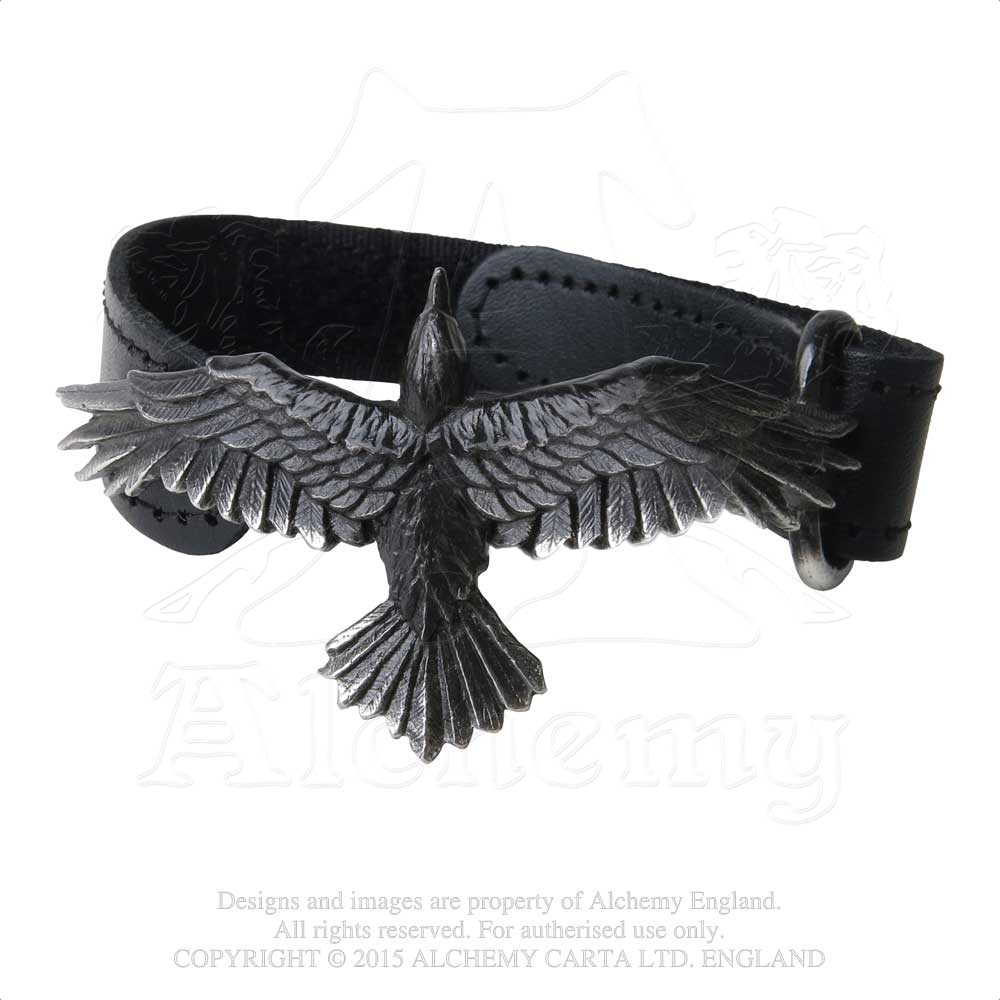 Alchemy Gothic Black Consort Bracelet from Gothic Spirit