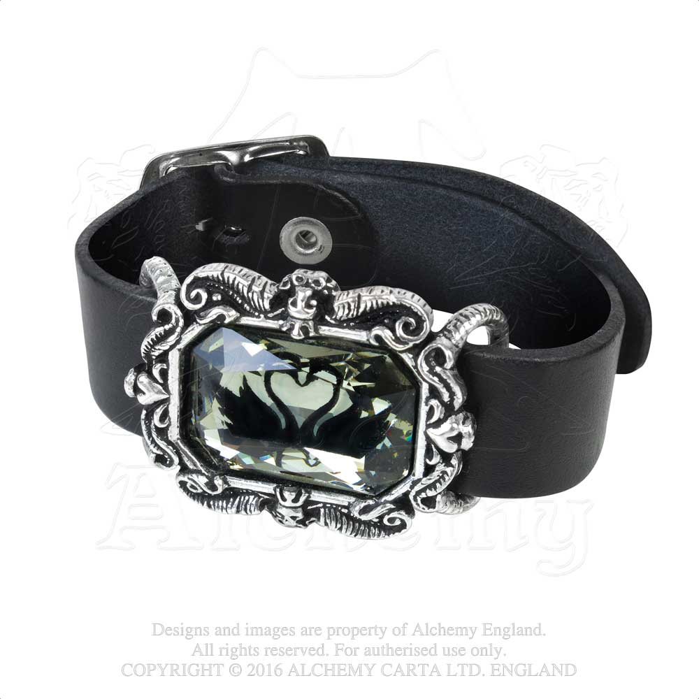Alchemy Gothic Black Swan Bracelet from Gothic Spirit