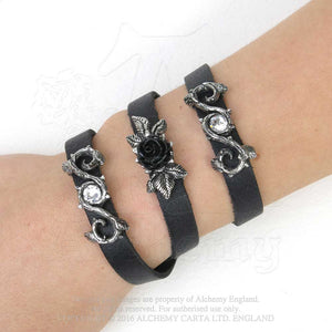 Alchemy Gothic Rose Of Perfection Bracelet - Gothic Spirit