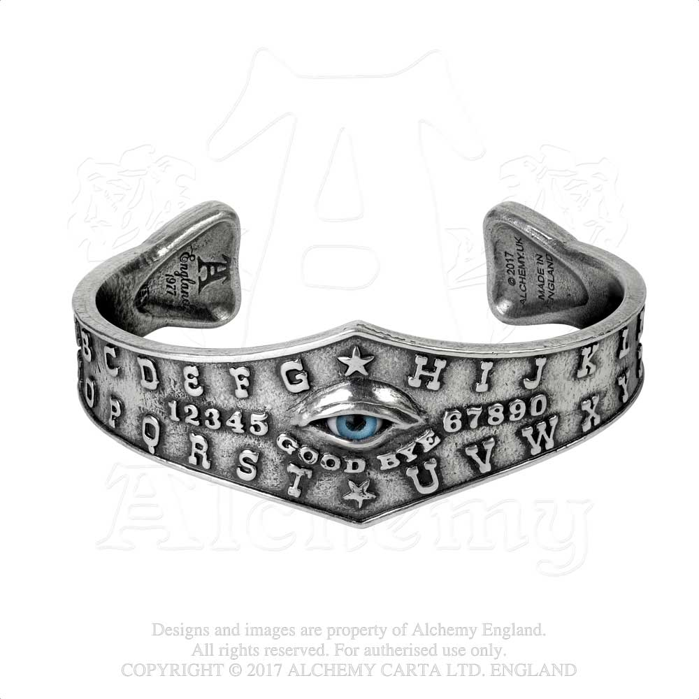 Alchemy Gothic Ouija Eye Bracelet from Gothic Spirit