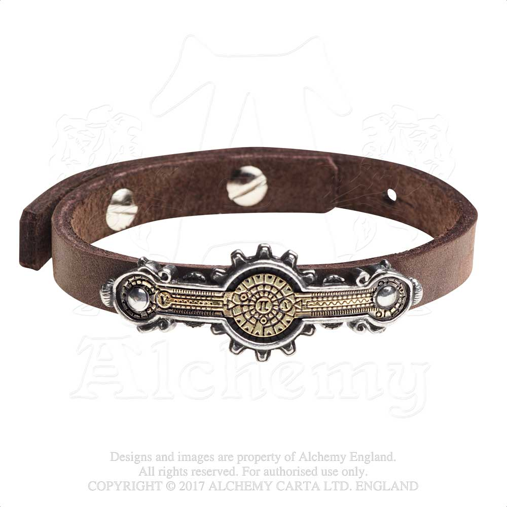 Alchemy Empire: Steampunk Portative Spectrostat Bracelet from Gothic Spirit
