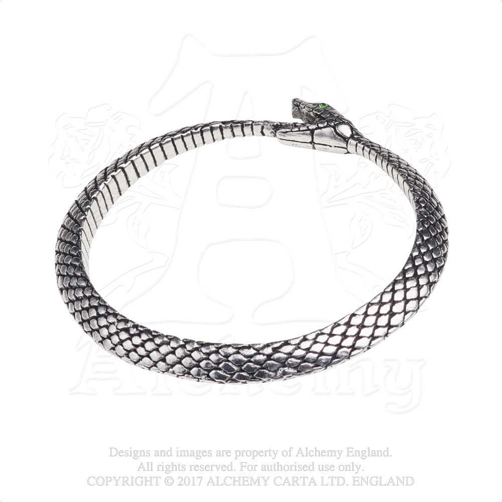 Alchemy Gothic The Sophia Serpent Bracelet - Gothic Spirit