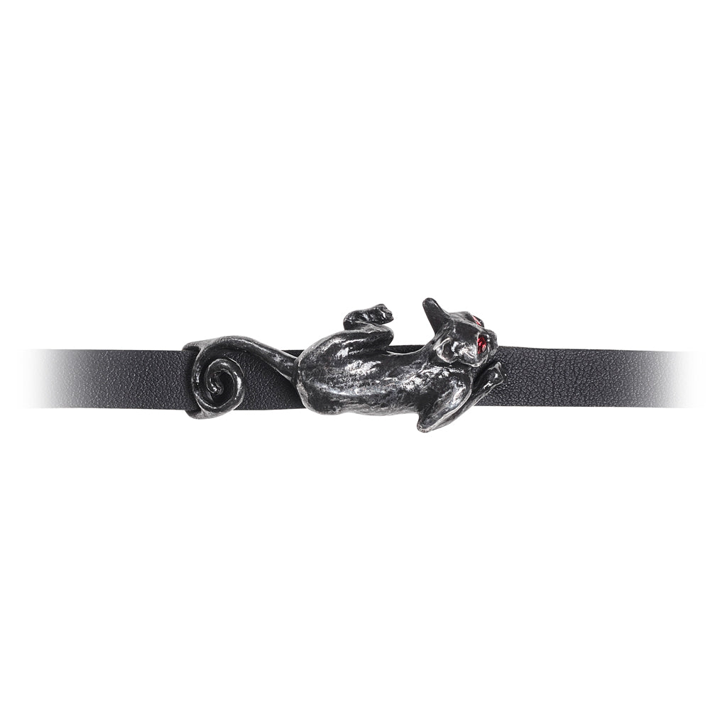 Alchemy Gothic Cat Sith Bracelet from Gothic Spirit