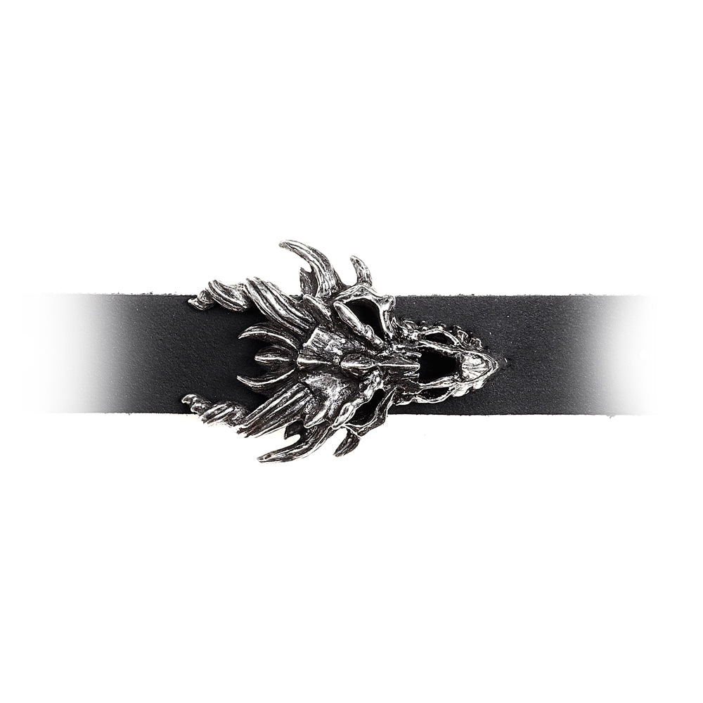 Alchemy Gothic Dragon Skull Bracelet from Gothic Spirit
