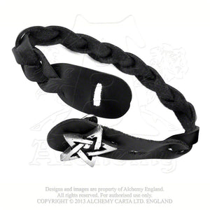 Alchemy Gothic Gaelic Plait Bracelet from Gothic Spirit