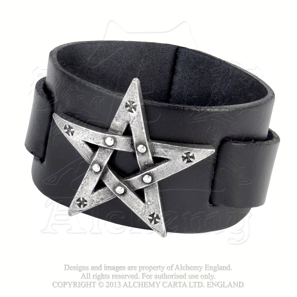 Alchemy Gothic Pentagration Bracelet from Gothic Spirit