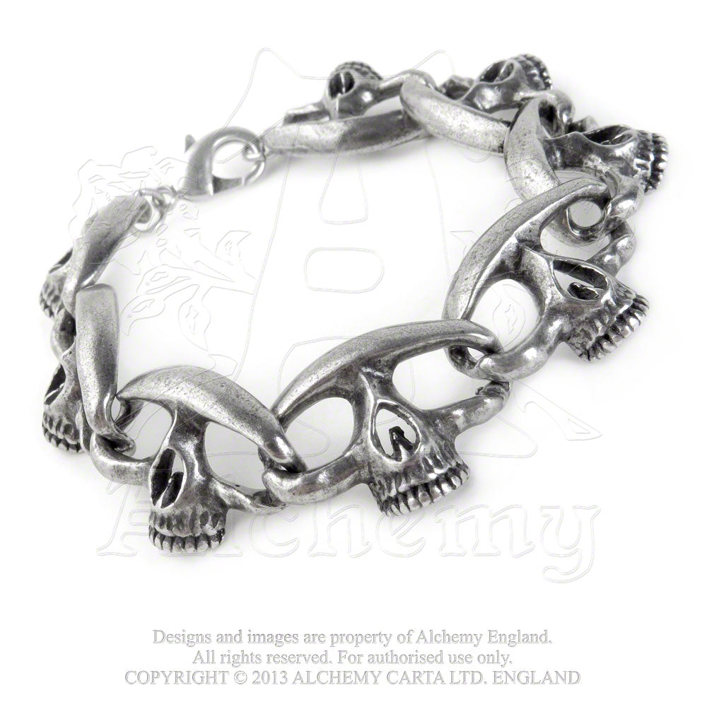 Alchemy Gothic Headcount Chain Bracelet from Gothic Spirit