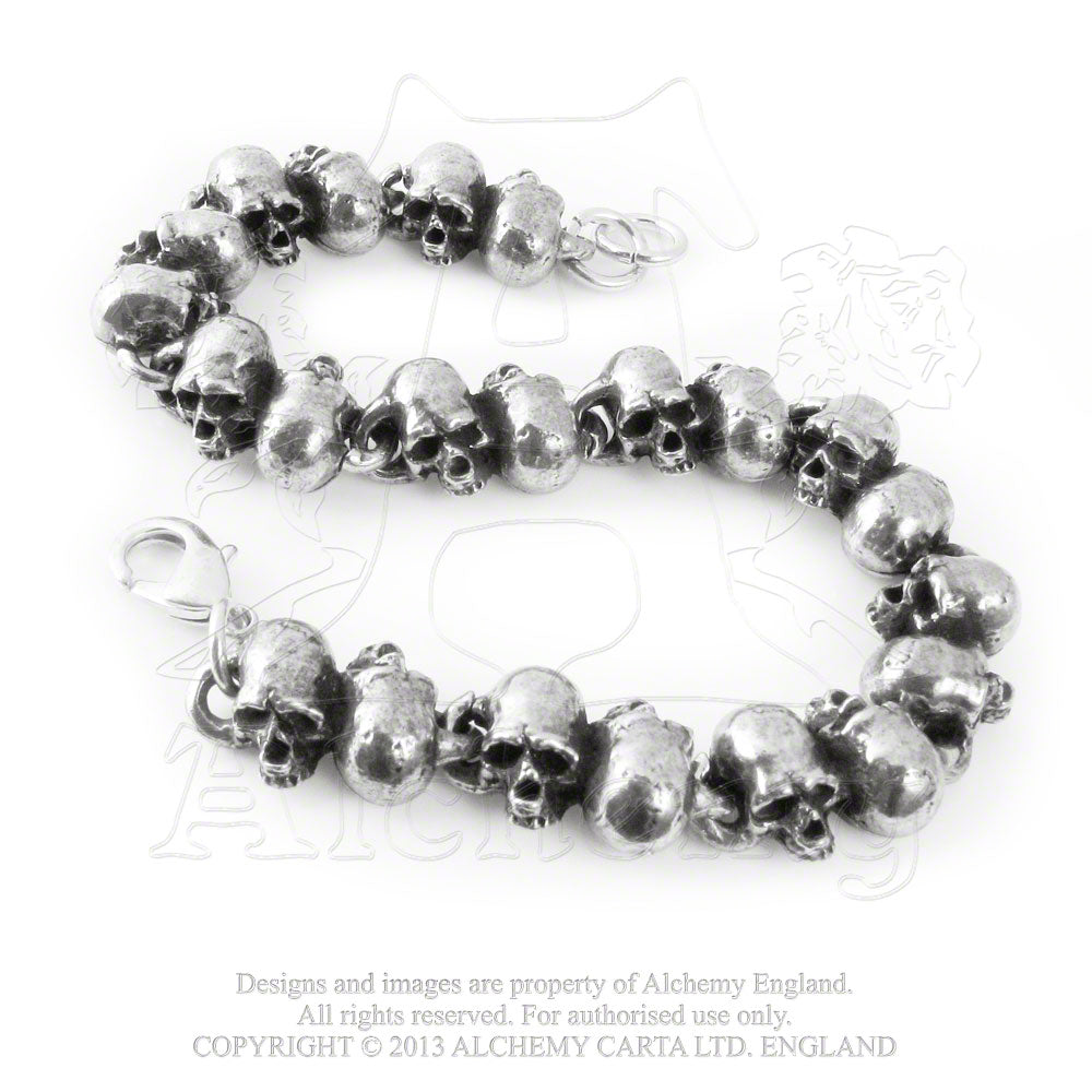 Alchemy Gothic Killing Fields Bracelet - Gothic Spirit