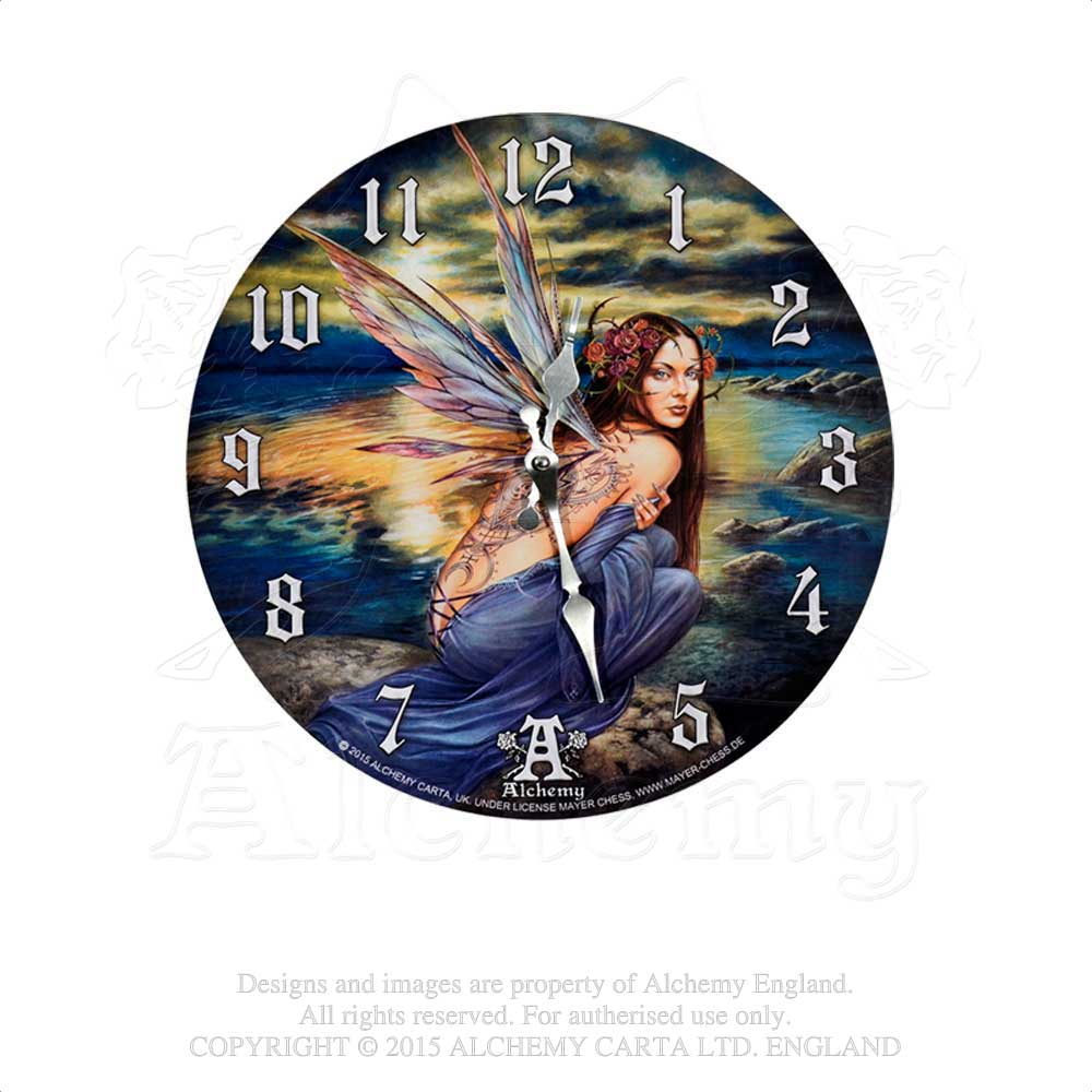 Alchemy Gothic Sylundine Clock from Gothic Spirit