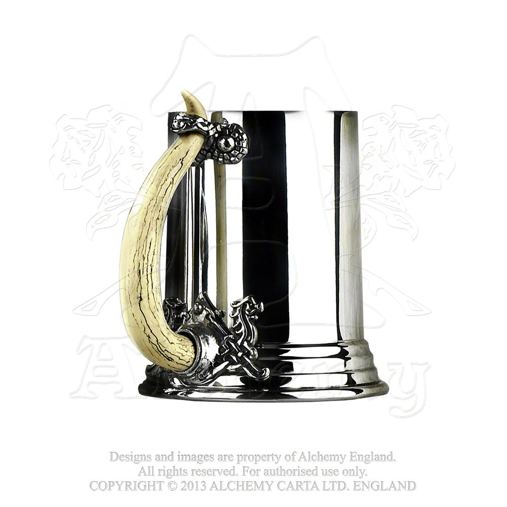 Alchemy Gothic Viking Horn Pewter Tankard from Gothic Spirit